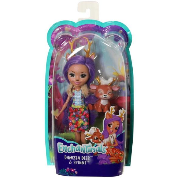Enchantimals Papusa Danessa Deer FXM75 7