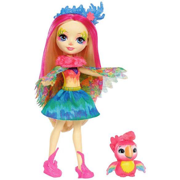 Enchantimals Papusa Peeki Parrot 1