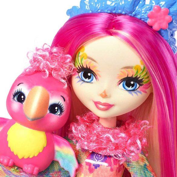 Enchantimals Papusa Peeki Parrot 4