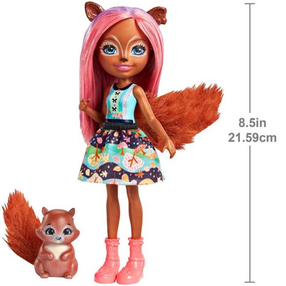 Enchantimals Papusa Sancha Squirrel 2