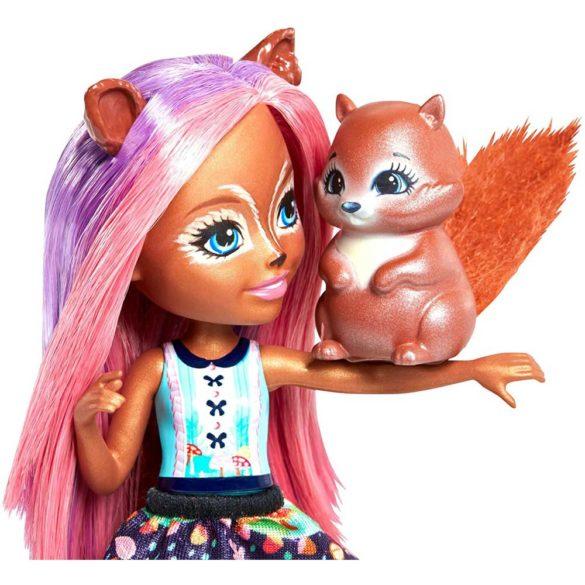 Enchantimals Papusa Sancha Squirrel 3