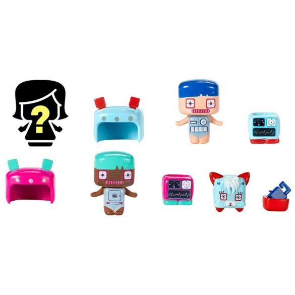 My Mini Mixieqs Set de 4 Figurine Robot 1