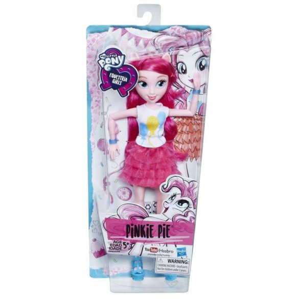 Papusa My Little Pony Equestria Girls Pinkie Pie 10