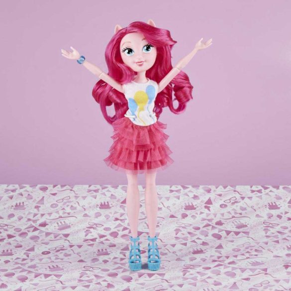 Papusa My Little Pony Equestria Girls Pinkie Pie 4