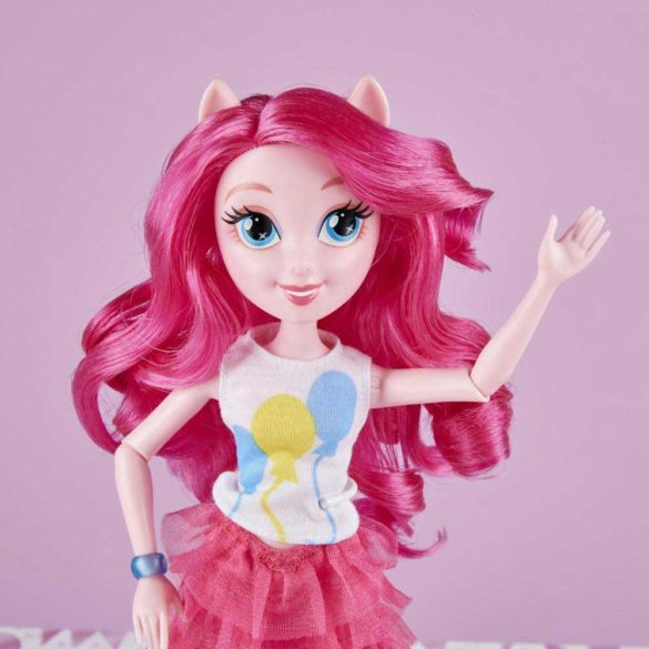 Papusa My Little Pony Equestria Girls Pinkie Pie 8