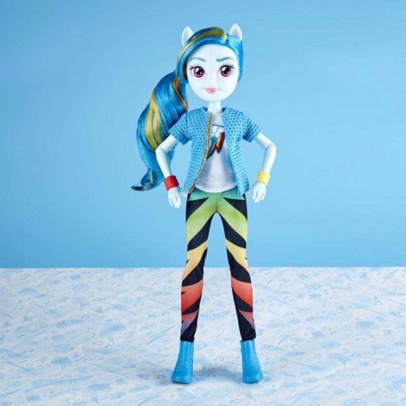 Papusa My Little Pony Equestria Girls Rainbow Dash 7