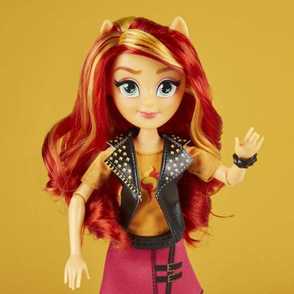 Papusa My Little Pony Equestria Girls Sunset Shimmer 4