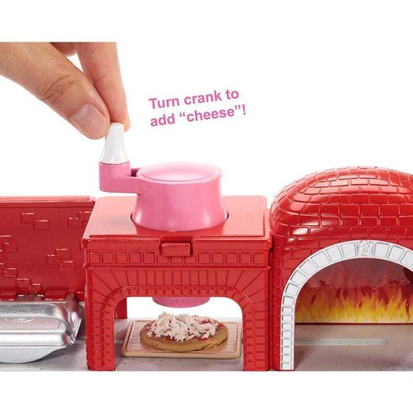 Set de joaca Mattel Barbie Pizzerie 3