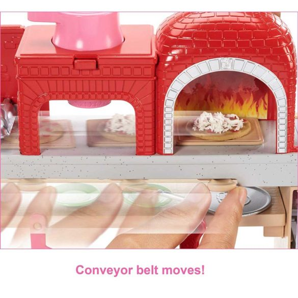 Set de joaca Mattel Barbie Pizzerie 4