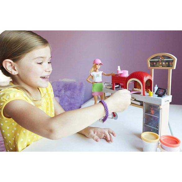 Set de joaca Mattel Barbie Pizzerie 6