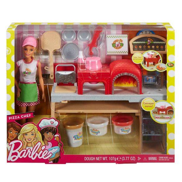 Set de joaca Mattel Barbie Pizzerie 7