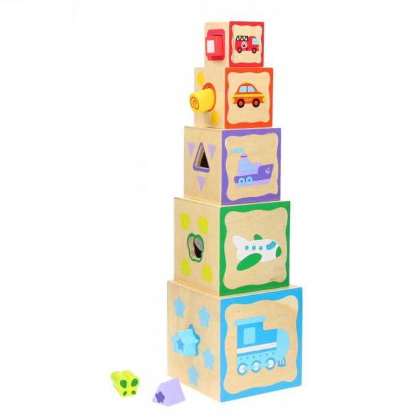 Turnul de Stivuit cu Forme Diferite 2