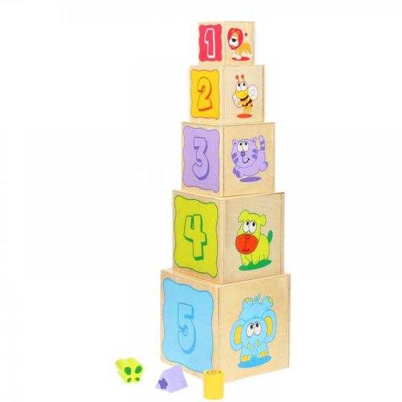 Turnul de Stivuit cu Forme Diferite 3