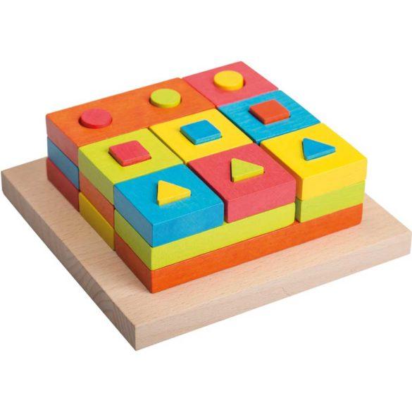 Joc din Lemn Puzzle de Stivuit 2