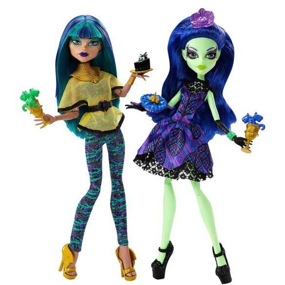 Monster High Scream Sugar Papusa Nefera de Nile si Amanita 1