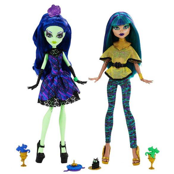 Monster High Scream Sugar Papusa Nefera de Nile si Amanita 2
