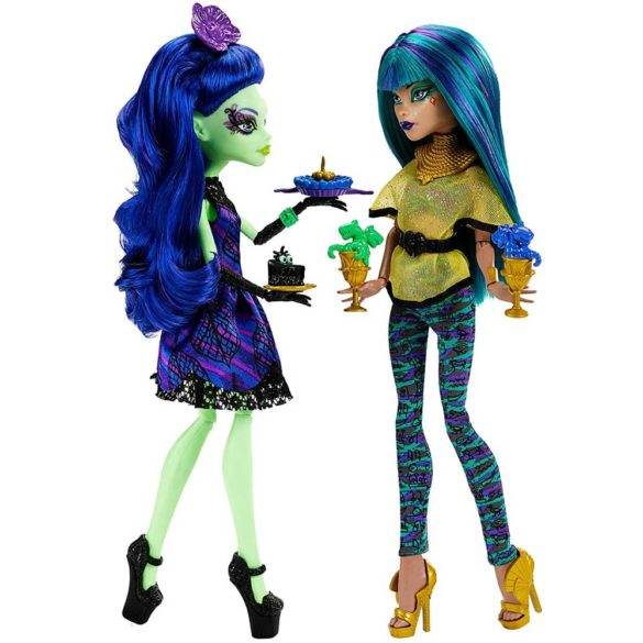 Monster High Scream Sugar Papusa Nefera de Nile si Amanita 3