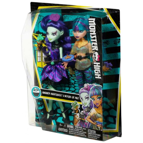 Monster High Scream Sugar Papusa Nefera de Nile si Amanita 7