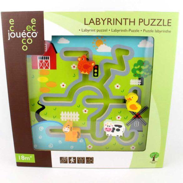 Puzzle Labirint din Lemn Ferma 2