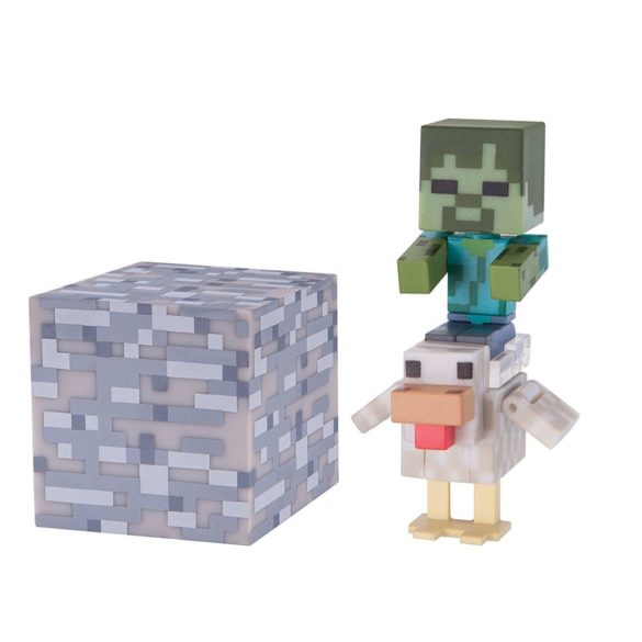 Figurina Minecraft Seria 3 Chicken Jockey 1