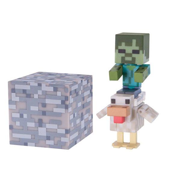 Figurina Minecraft Seria 3 Chicken Jockey 1