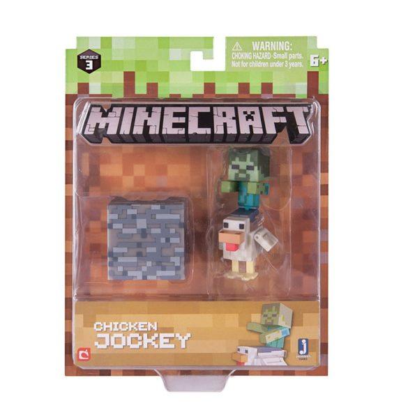 Figurina Minecraft Seria 3 Chicken Jockey 2
