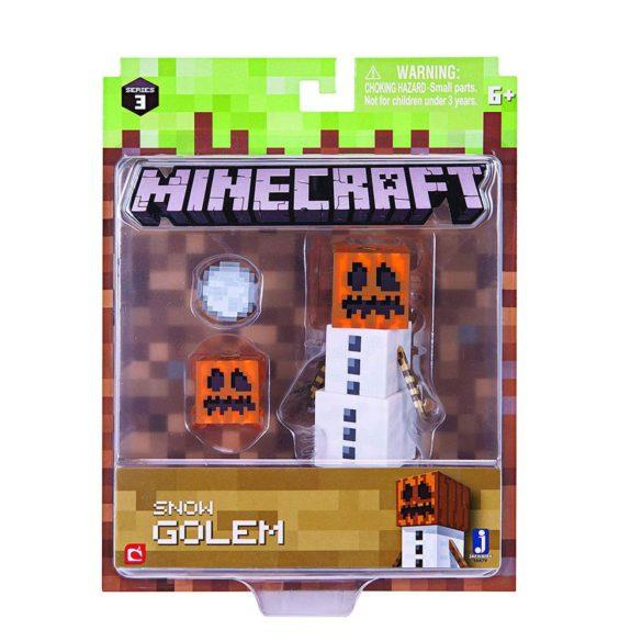 Figurina Minecraft Seria 3 Snow Golem 3