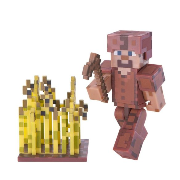 Figurina Minecraft Seria 3 Steve In Leather Armour 1