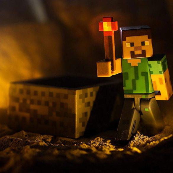 Figurina Minecraft Seria 3 Steve with Minecart 2