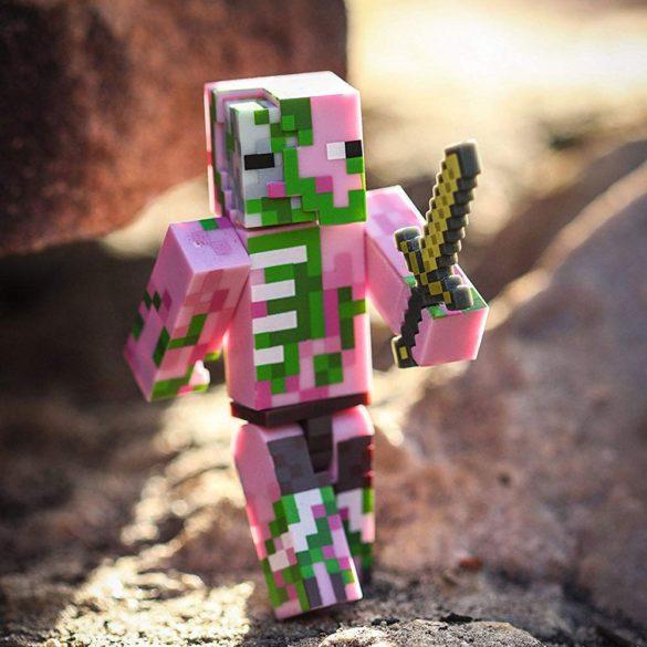 Figurina Minecraft Seria 3 Zombie Pigman 3