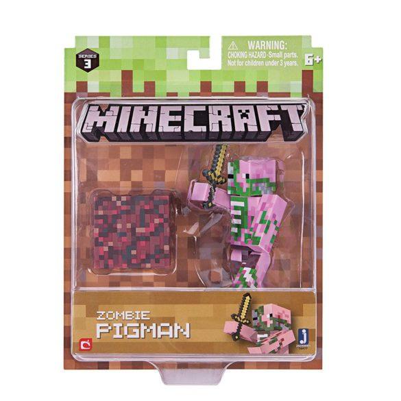 Figurina Minecraft Seria 3 Zombie Pigman 4