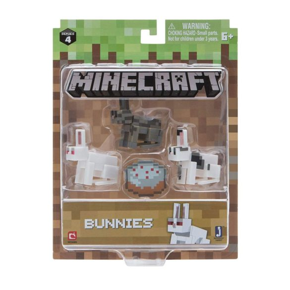 Figurina Minecraft Seria 4 Bunnies 2