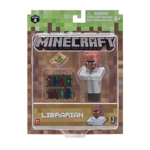 Figurina Minecraft Seria 4 Librarian 4