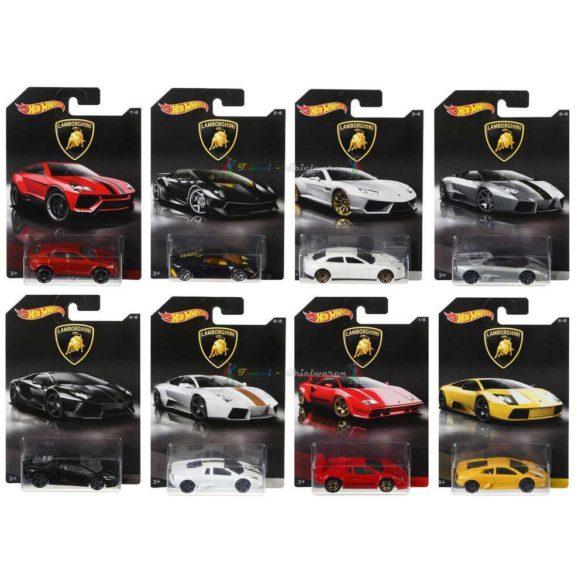 Masinuta Hot Wheels Colectia Completa Lamborghini 8 Buc. 2