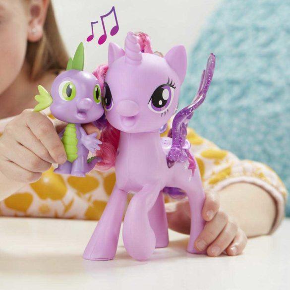 My Little Pony Poneiul Twilight Sparkle si Dragonul Spike 5