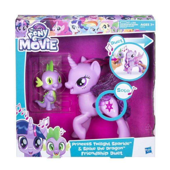 My Little Pony Poneiul Twilight Sparkle si Dragonul Spike 6