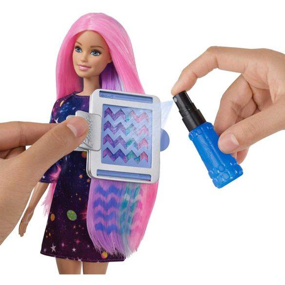 Papusa Barbie cu par ce isi schimba culoarea 6