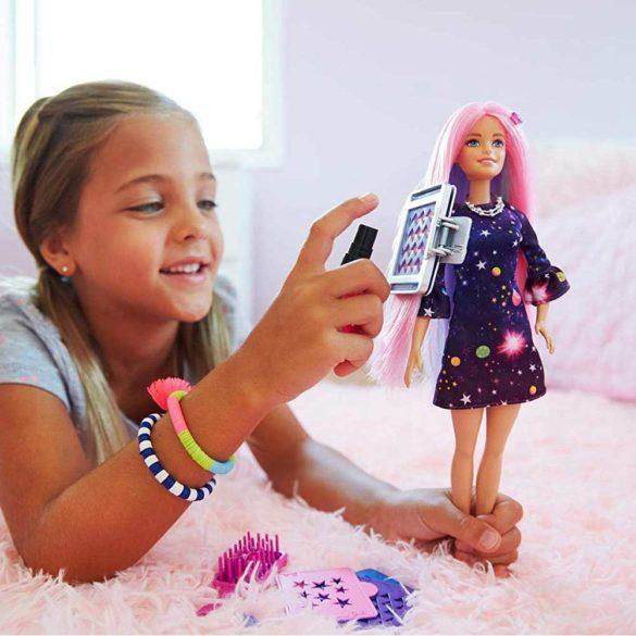 Papusa Barbie cu par ce isi schimba culoarea 7