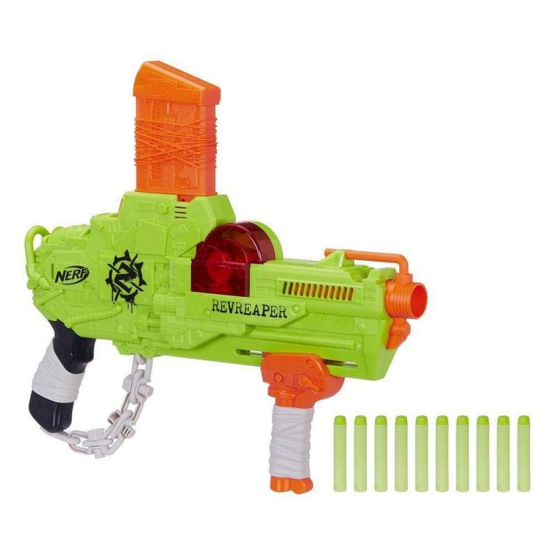 Pistol de Jucarie Nerf Zombie Strike RevReaper