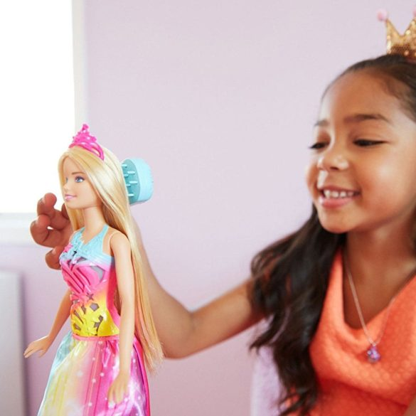 Barbie Dreamtopia Papusa Perie si Straluceste 7