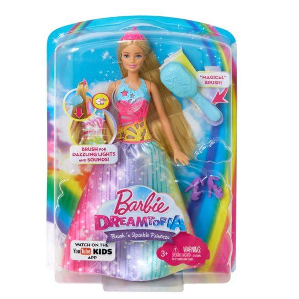 Barbie Dreamtopia Papusa Perie si Straluceste 8