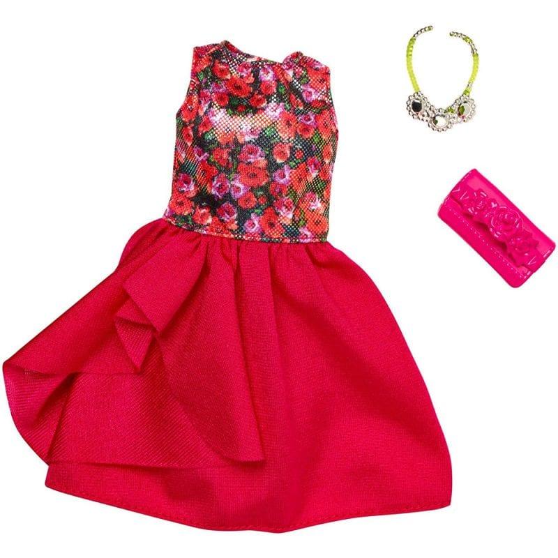 Barbie Hainute Complete Rochia Rosie FLP77