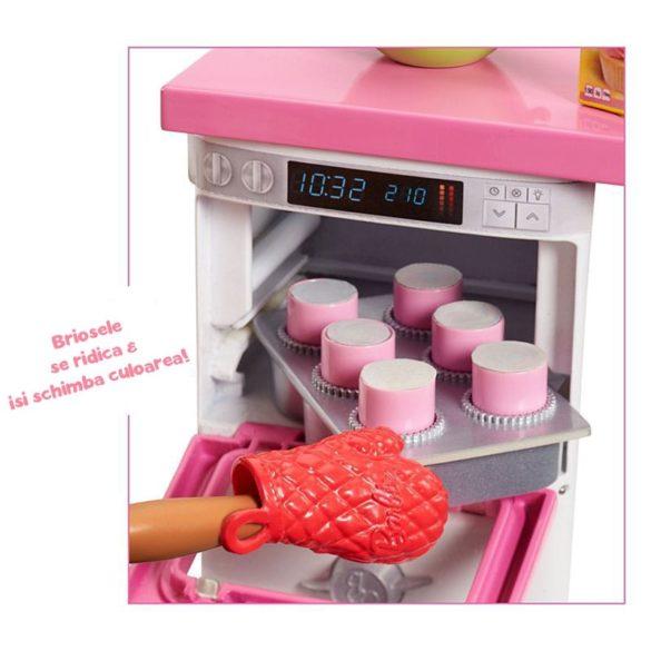 Barbie Papusa Cofetar si Setul de Mobilier 9
