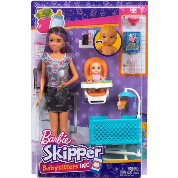 Barbie si Familia Setul de Joaca cu Bebelus Blond 10