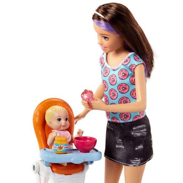 Barbie si Familia Setul de Joaca cu Bebelus Blond 3
