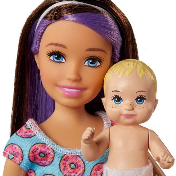 Barbie si Familia Setul de Joaca cu Bebelus Blond 6