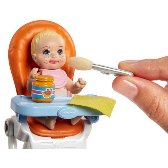 Barbie si Familia Setul de Joaca cu Bebelus Blond 7