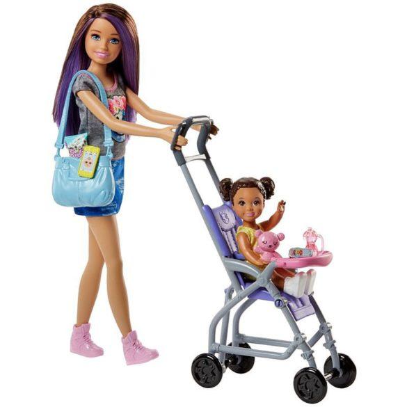 Barbie si Familia Setul de Joaca cu Bebelus si Carucior 2
