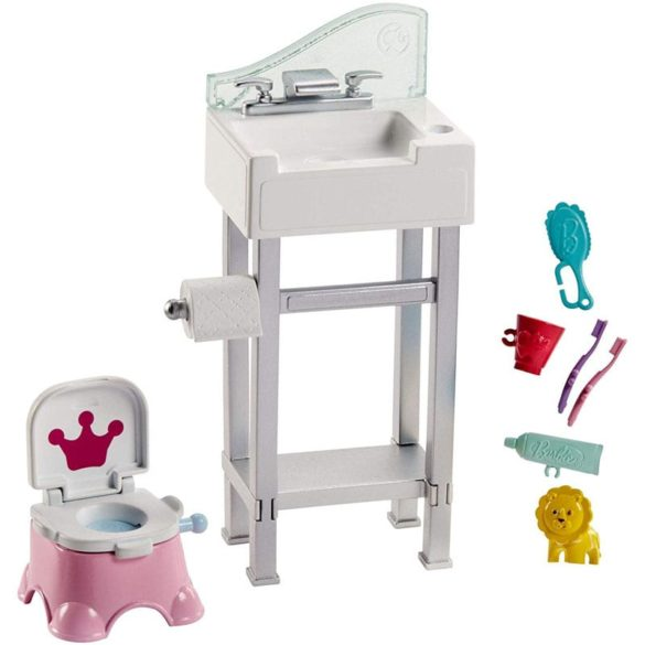 Barbie si Familia Setul de Joaca cu Bebelus si Olita 2