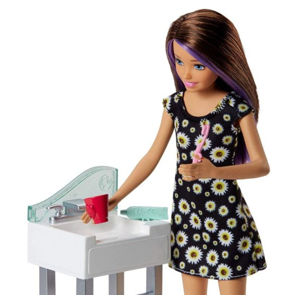 Barbie si Familia Setul de Joaca cu Bebelus si Olita 3